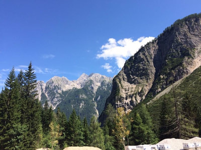 Triglav national park - campervan road trip Slovenia