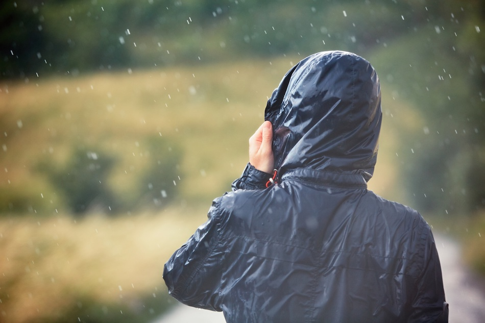 Rain and lightning in the mountains - hiking safety tips
