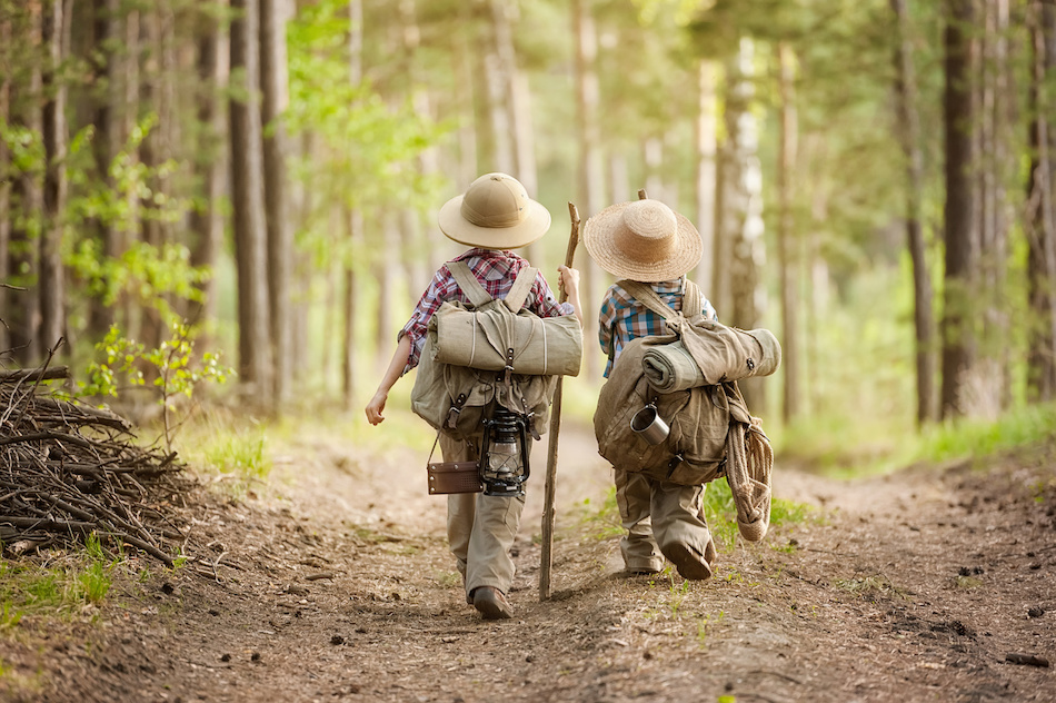 Hiking with children - saftey tips