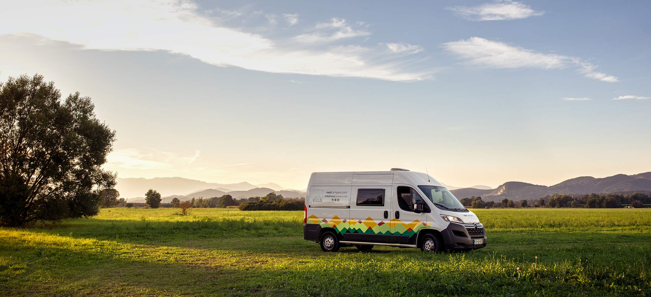 Road trip to discover Slovenia with a campervan