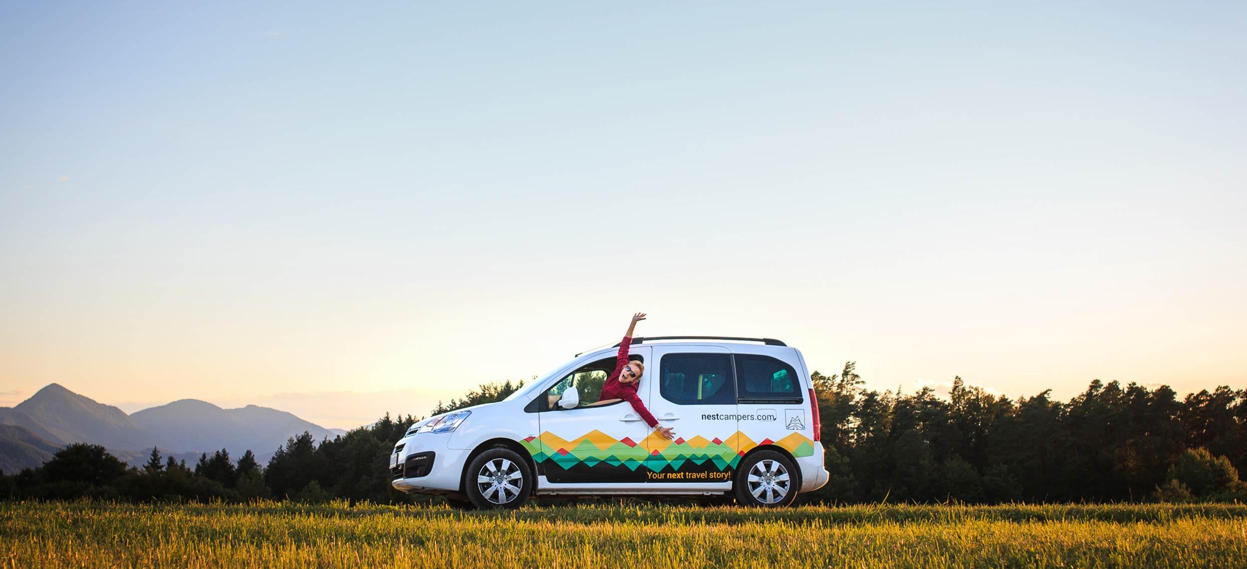 Low cost campervan rental