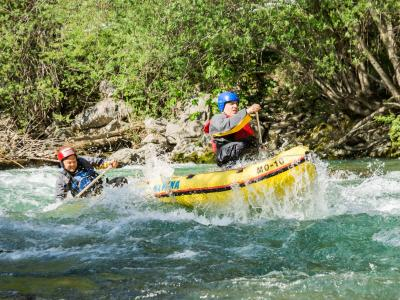 Rafting experience on the river Savinja