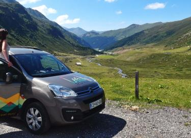 European road trip with a campervan