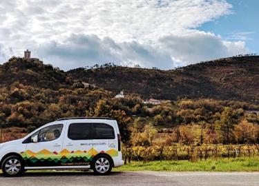 Road trip to wine region in Slovenia