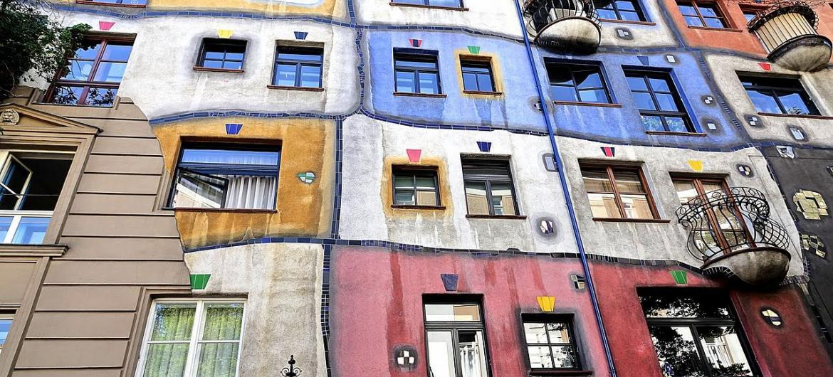 artistic buildings of Vienna