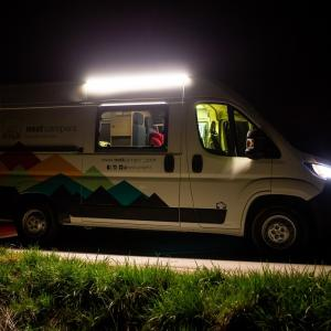 Stork campervan Night View