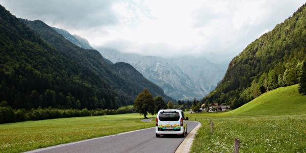Driving in Slovenia is easy, especially with our Nest campervans.
