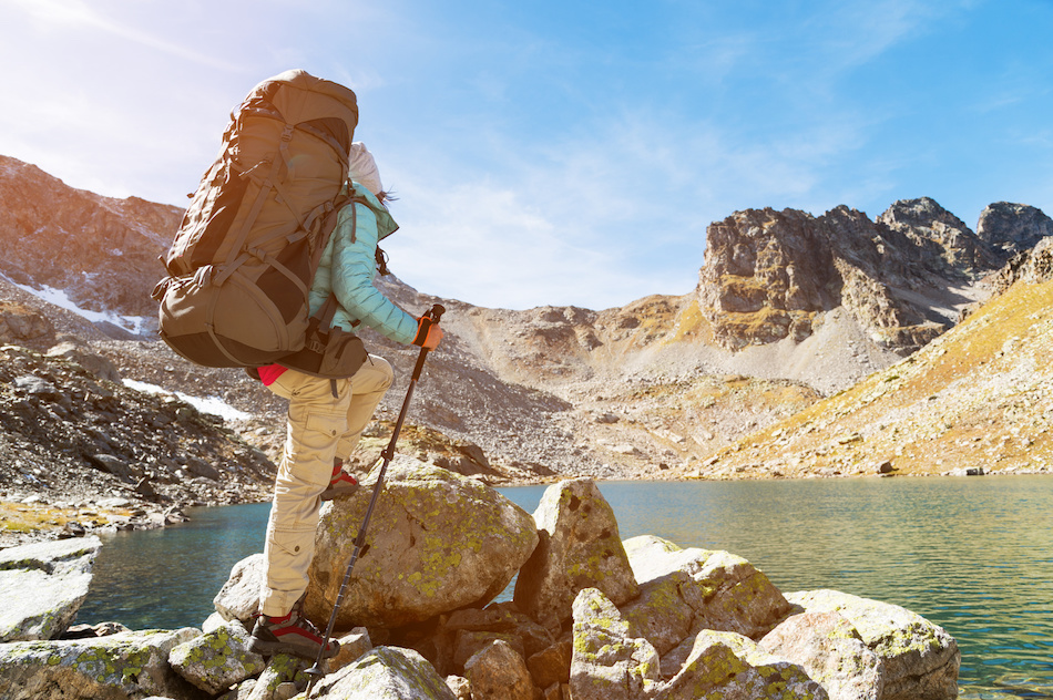 Hiking in the heat - safety tips for a hike
